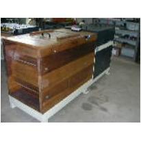 Follone in legno di iroko per pelli da pelliccia